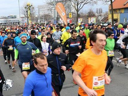 3000 Läufer waren beim Wiener Halbmarathon dabei