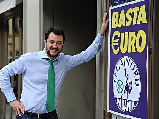 Matteo Salvini ist kein Euro-Freund