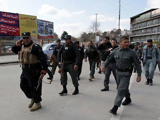 Anschlag auf Kabuls Innenministerium