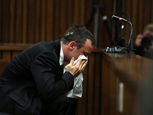 Pistorius verlas seine SMS unter Tränen