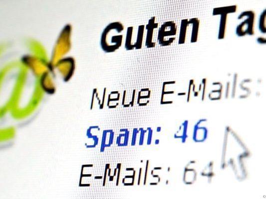Häufig werden Spam und Massen-E-Mails verschickt
