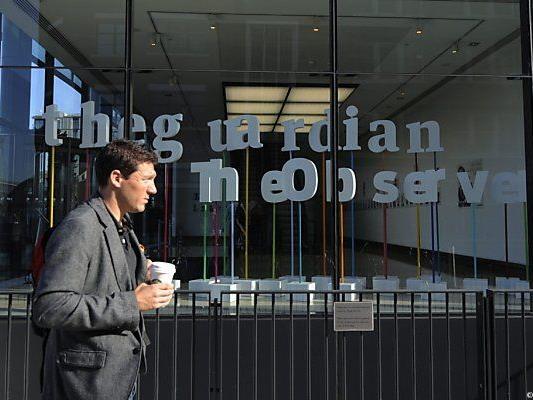 """""""Guardian"""" in London trieb Enthüllungen voran"""
