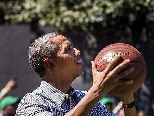 Obama tauscht Sport- gegen Arbeitsgerät