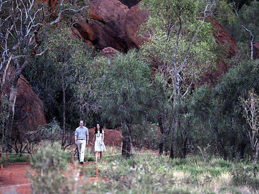 Kate und Will streifen durch die Wildnis