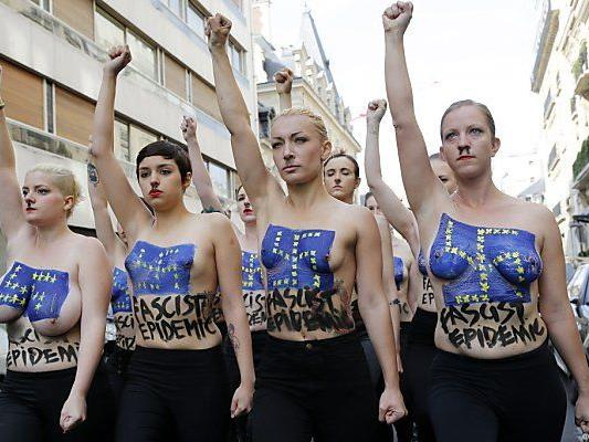 Femen selbst bei Feministinnen umstritten
