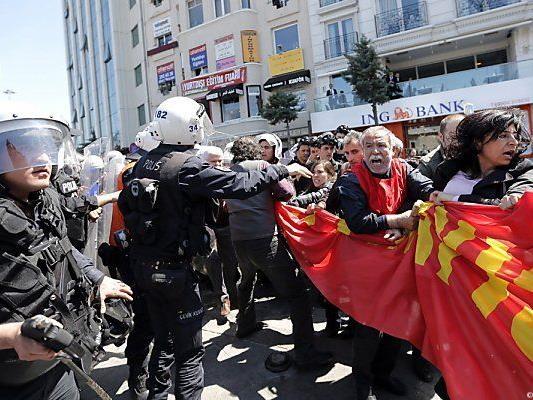 Keine Demos am Tag der Arbeit am Taksimplatz