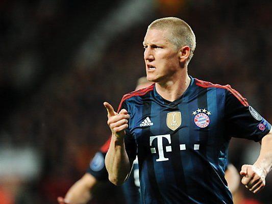 Schweinsteiger erzielte Ausgleich für Bayern