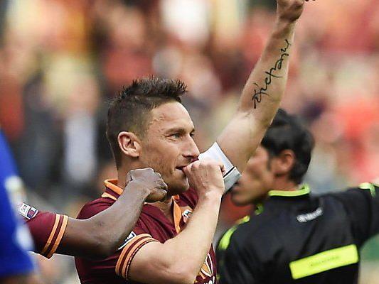 Roma-Ikone Francesco Totti traf wieder