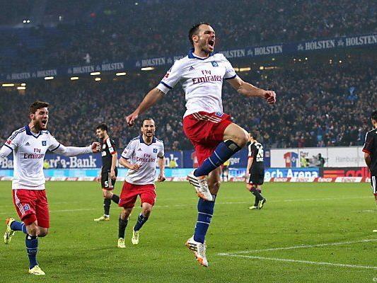 Heiko Westermann nach Siegtreffer für den HSV