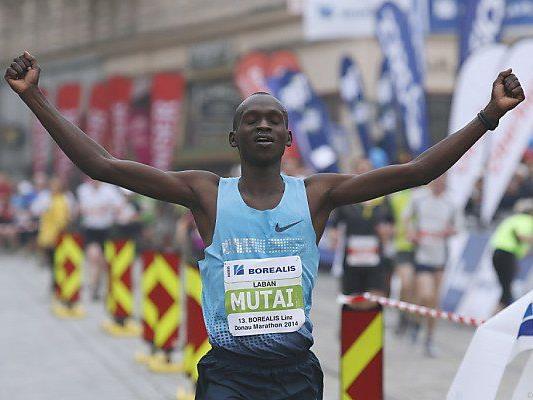 Der Kenianer gewann den 13. Linz-Marathon