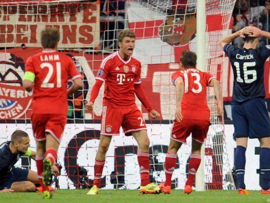 Bayern gewann nach 0:1-Rückstand noch souverän 3:1