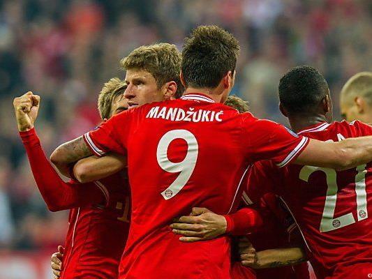 3:1-Heimsieg von Bayern gegen Manchester