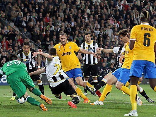 Fernando Llorente trifft zum 2:0 für Juventus