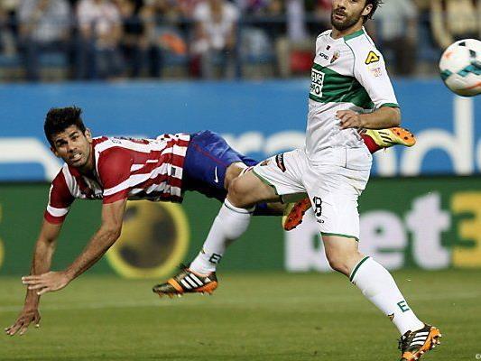 Costa traf beim 2:0 gegen Elche per Elfmeter