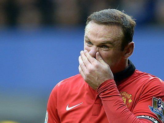 Keine Freude bei Wayne Rooney