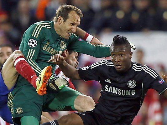 Chelsea-Goalie Schwarzer hielt sein Tor sauber