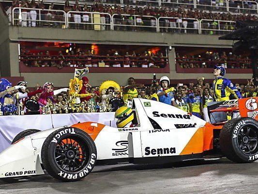 Senna, bis heute eine gefeierte Ikone Brasiliens