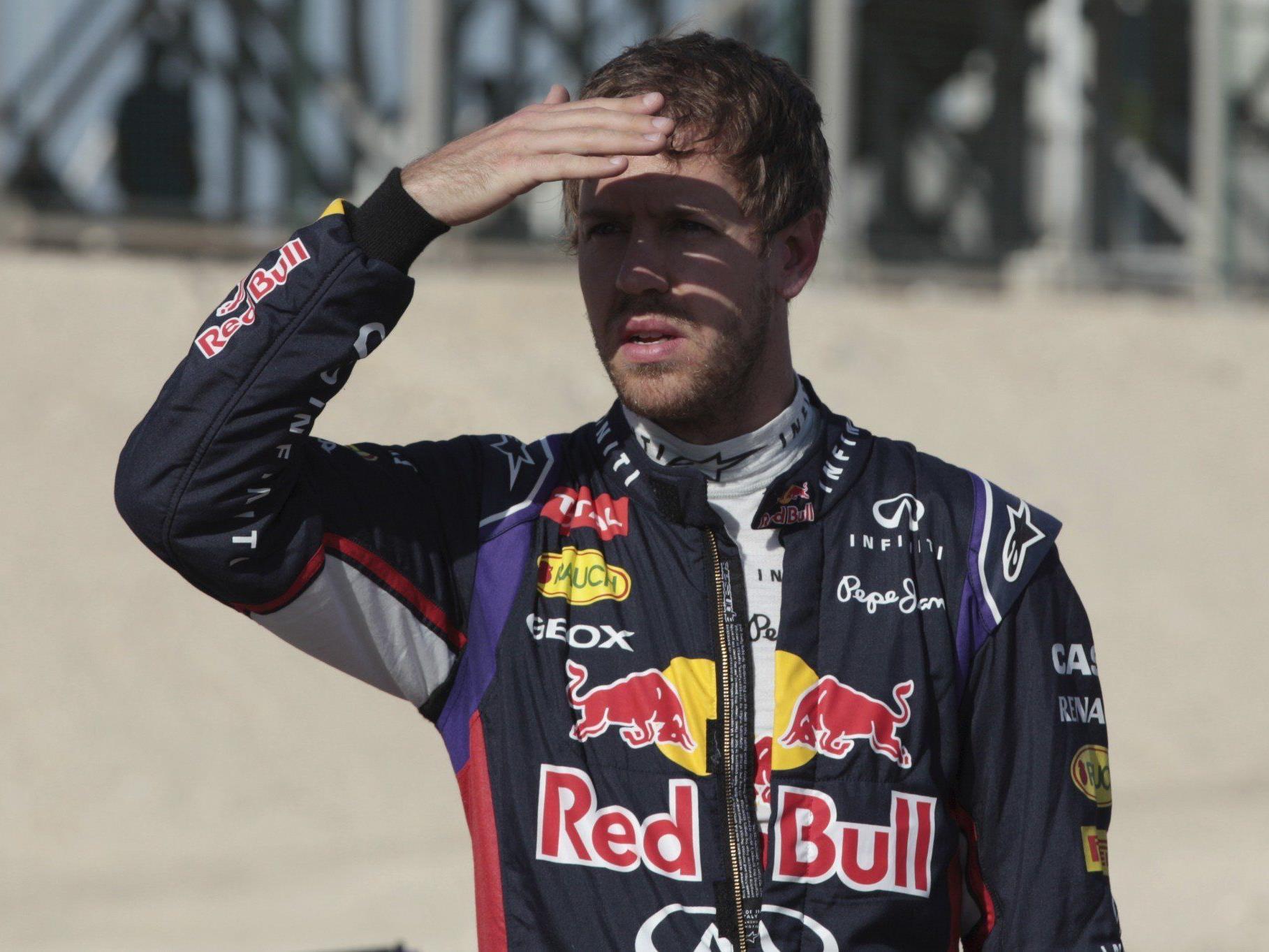 Sebastian Vettel sieht die erste Startreihe in Bahrain nur von Platz elf aus.
