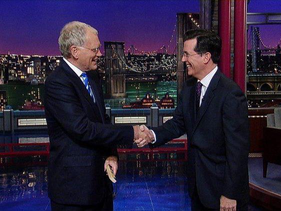 Stephen Colbert wird Nachfolger von Letterman
