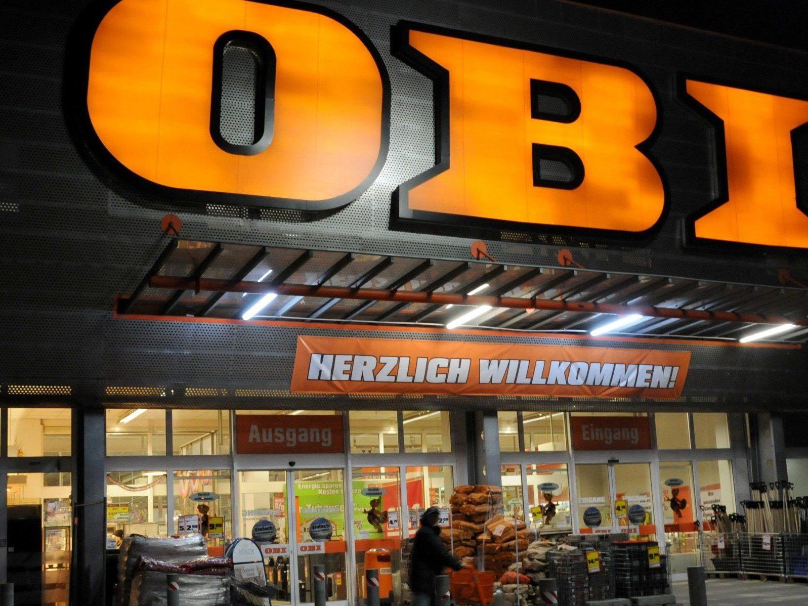 In der Obi-Zentrale in Wien-Landstraße werden 73 Mitarbeiter gekündigt.