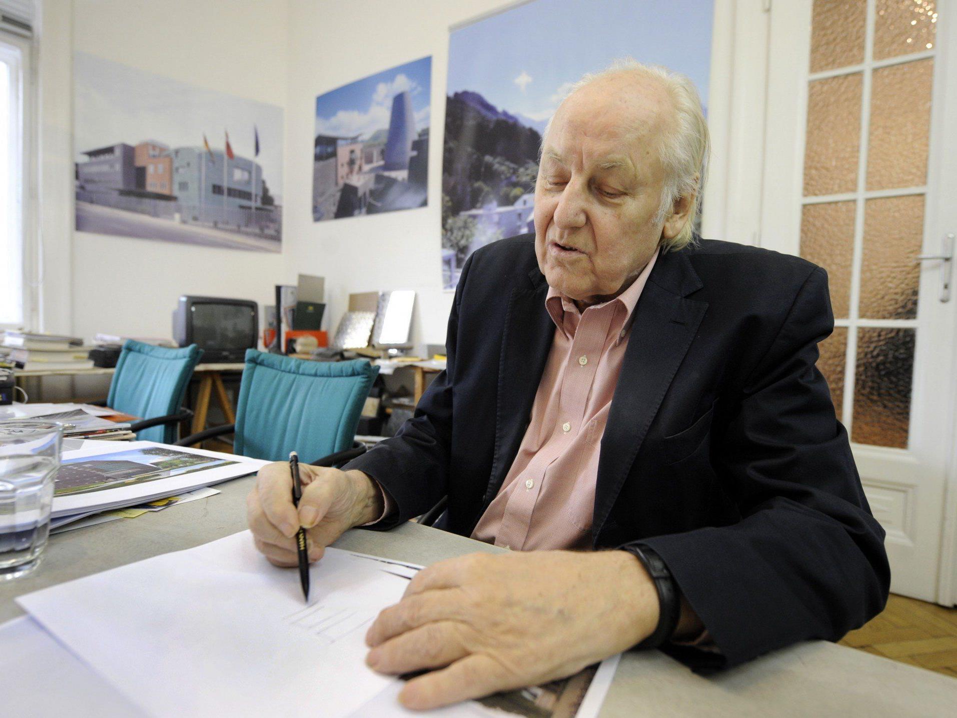 Österreichischer Architekt Hans Hollein 80-jährig gestorben