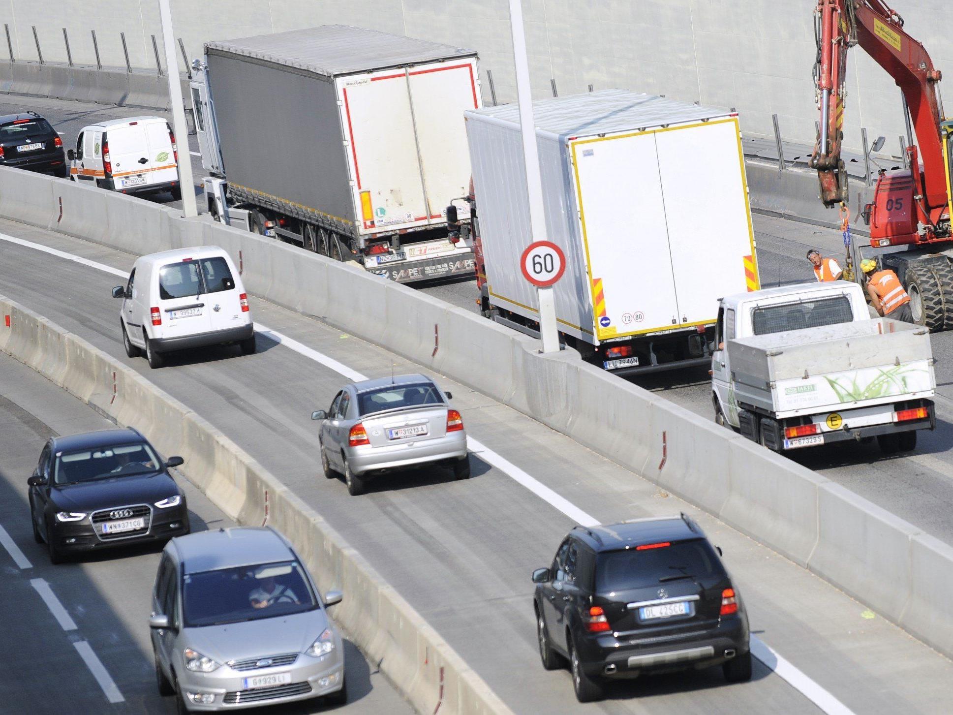Wiens Autofahrer müssen Geduld beweisen: Alle Sommer-Baustellen im Überblick.