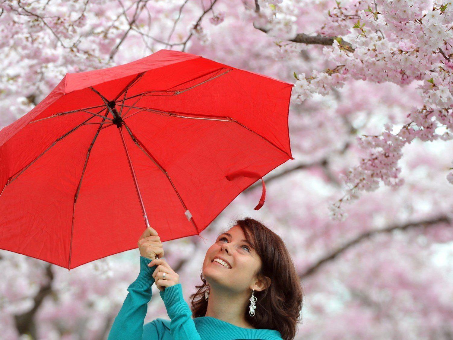 Mildere Temperaturen und typisches Aprilwetter zum Osterwochenende