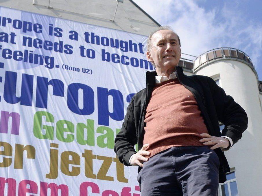 Ärger wegen Bono-Zitat auf ÖVP-Plakaten für die Europawahl 2014.