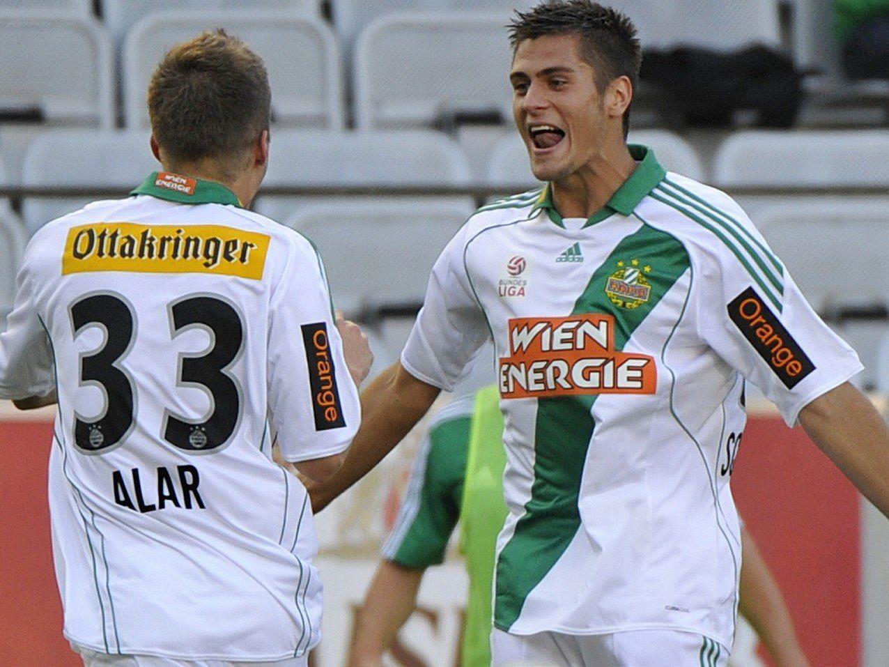 Michael Schimpelsberger verlängerte seinen Vertrag bei Rapid Wien bis 2016.