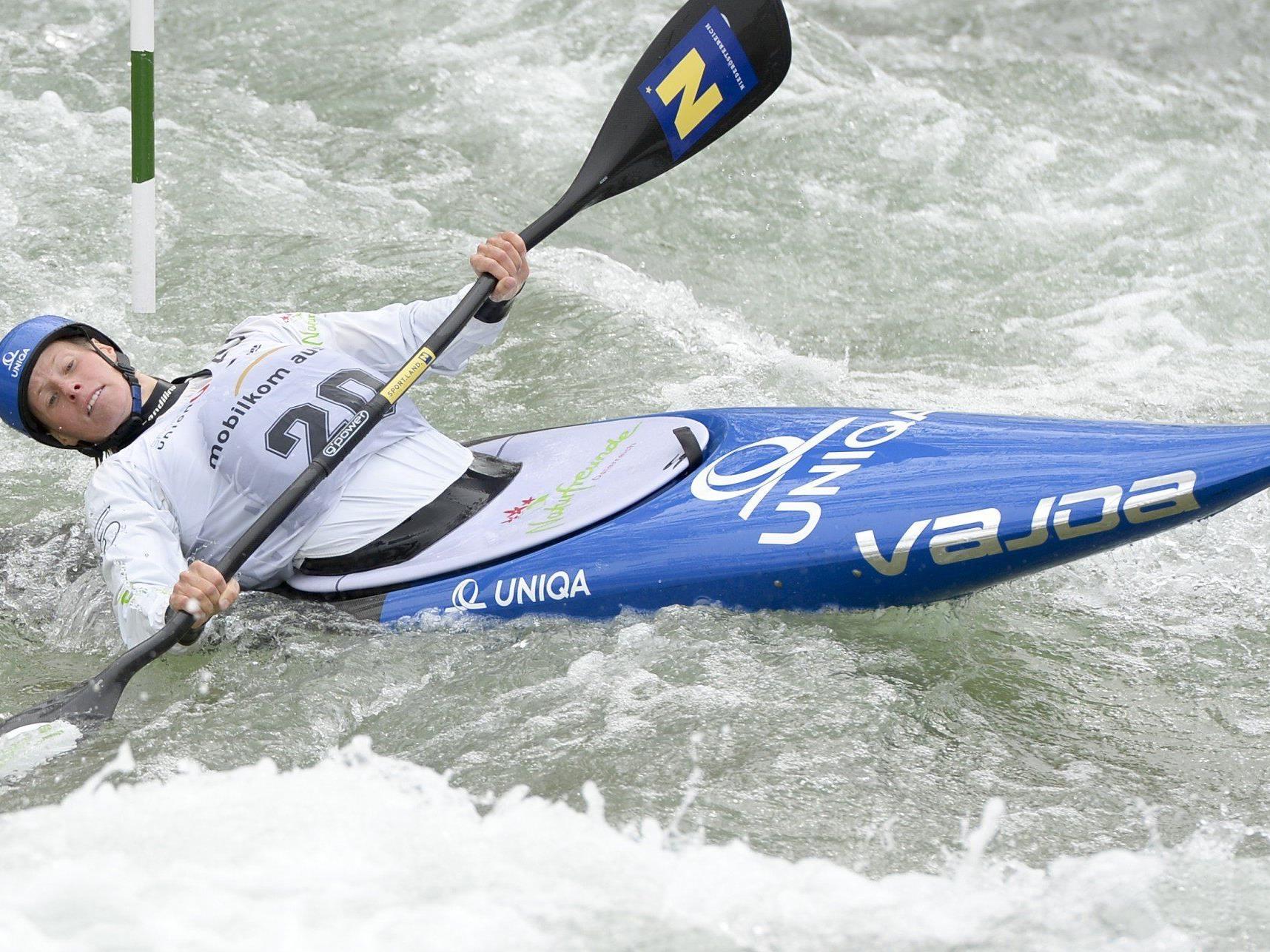 Kanu: Kuhnle dominierte EM-Qualifikationsläufe auf Wiener Donauinsel