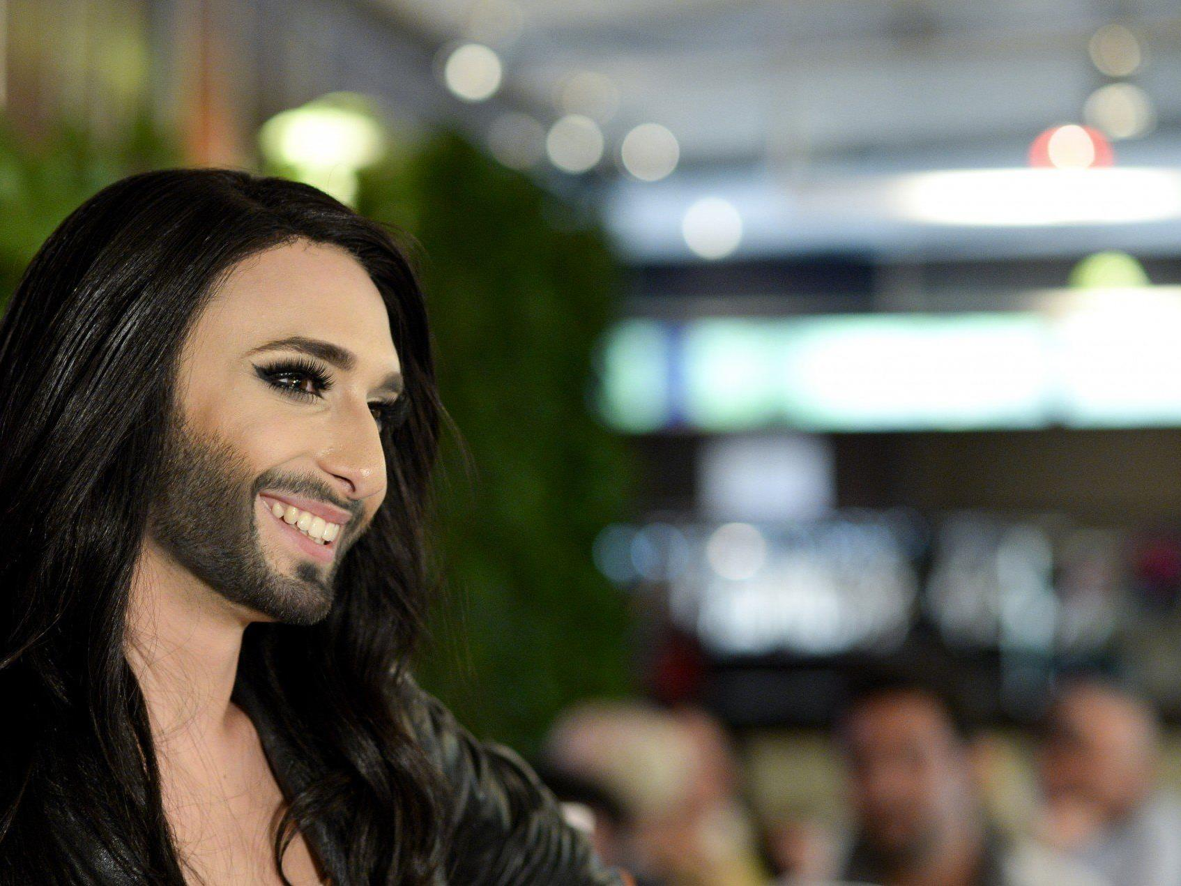Conchita Wurst lud zur Verabschiedungsparty