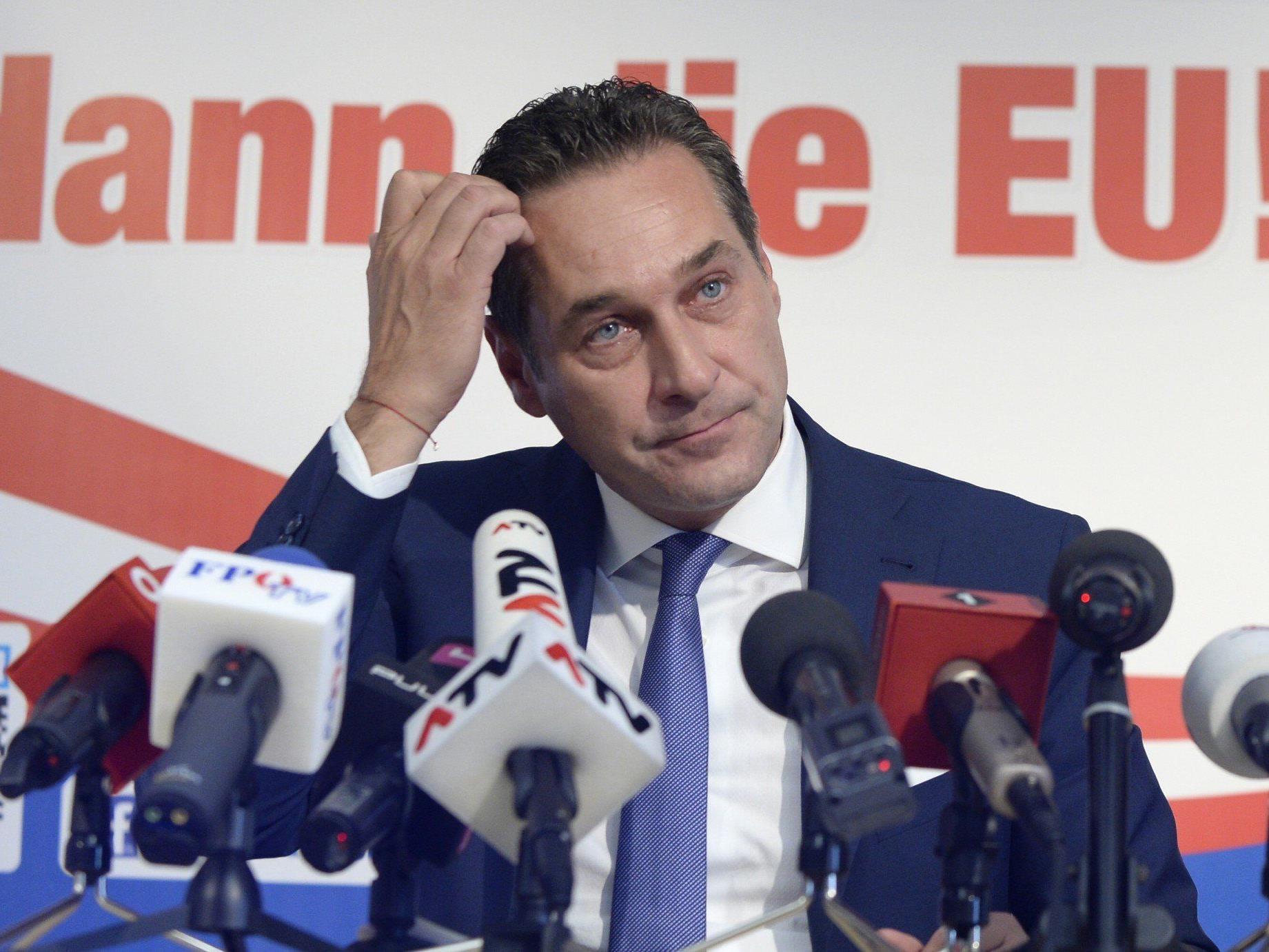 EU-Wahl: FPÖ wirbt mit Strache gegen Dummheit