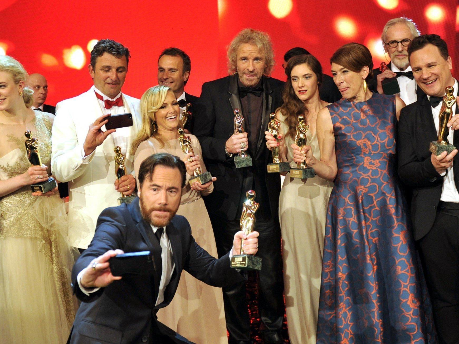 Zeit der Premieren: M'Barek, Sigl und Fischer bei Romy-Gala geehrt