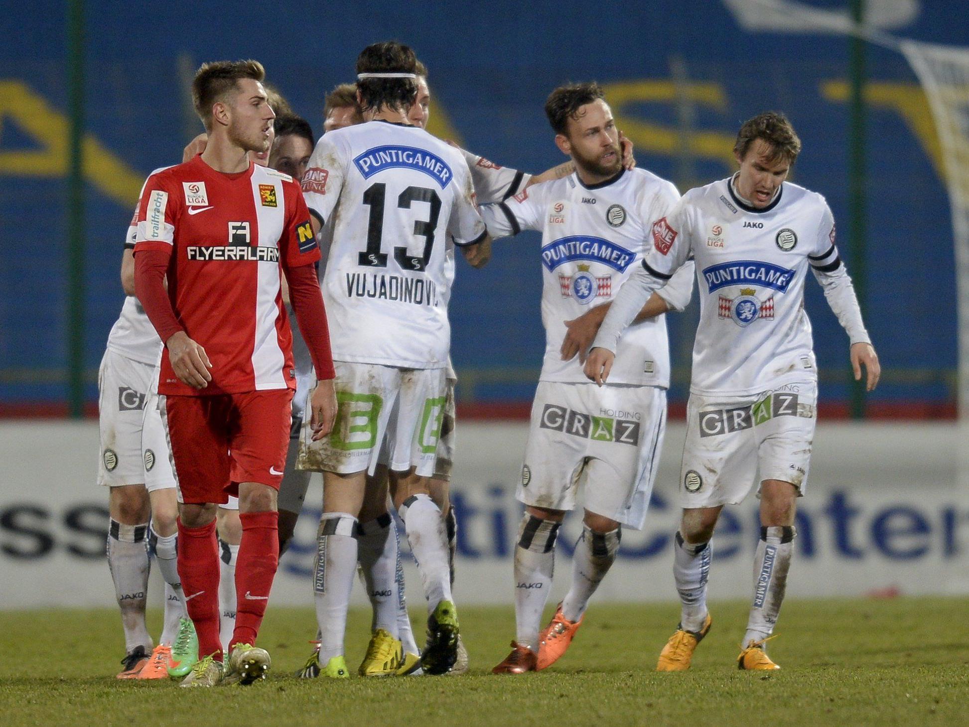 LIVE-Ticker zum Spiel SK Sturm Graz gegen FC Admira Wacker Mödling ab 19.00 Uhr.