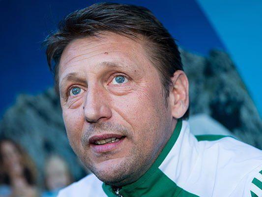 Verlängert Rapid-Trainer Zoran Barisic seinen Vertrag?
