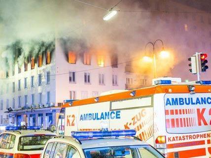 Beim Brand in der Innenstadt