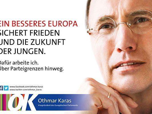 Ein Sujet der jüngsten ÖVP-Plakatwelle