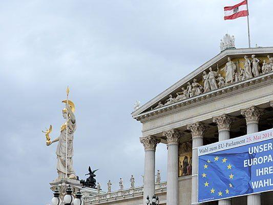 Neun teilnehmende Listen bei der EU-Wahl - neun verschiedene Ausgangssituationen