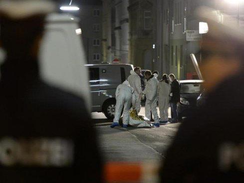 Am Tatort des Handgranatenmordes