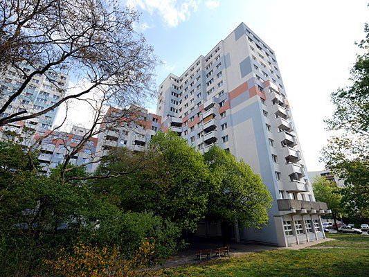 In diesem Hochhaus in der Jedlersdorfer Straße in Wien-Floridsdorf geschah das Unglück
