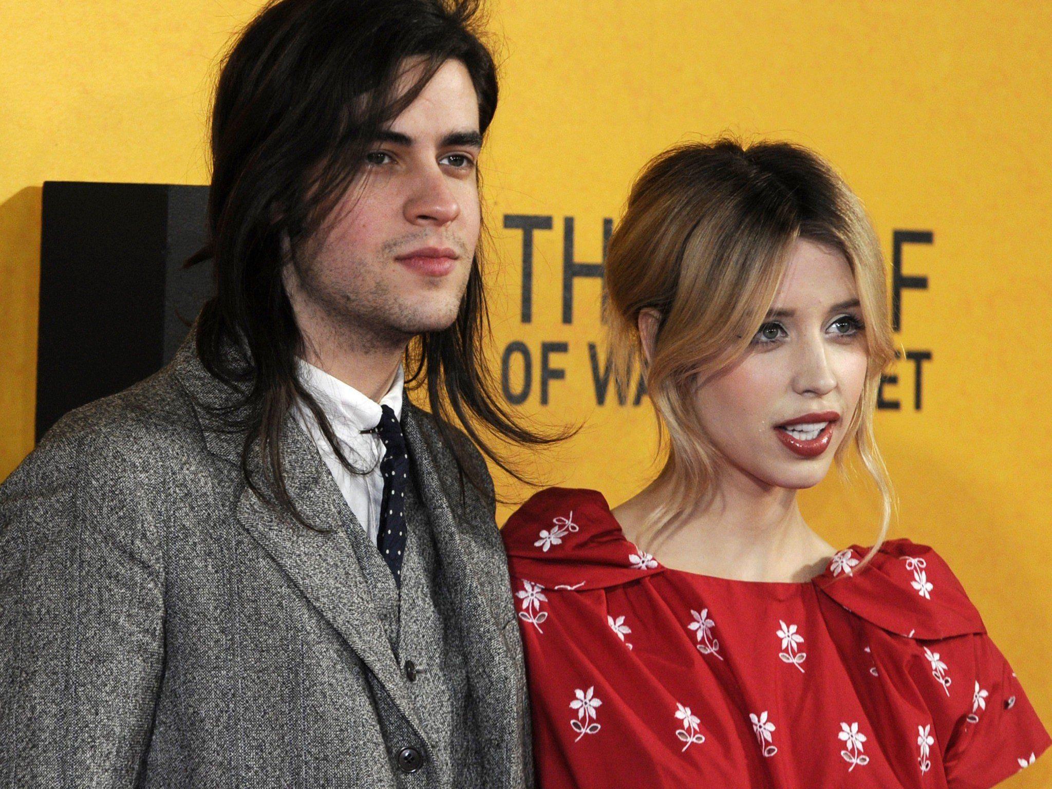 Peaches Geldof mit ihrem Mann Thomas Cohen.