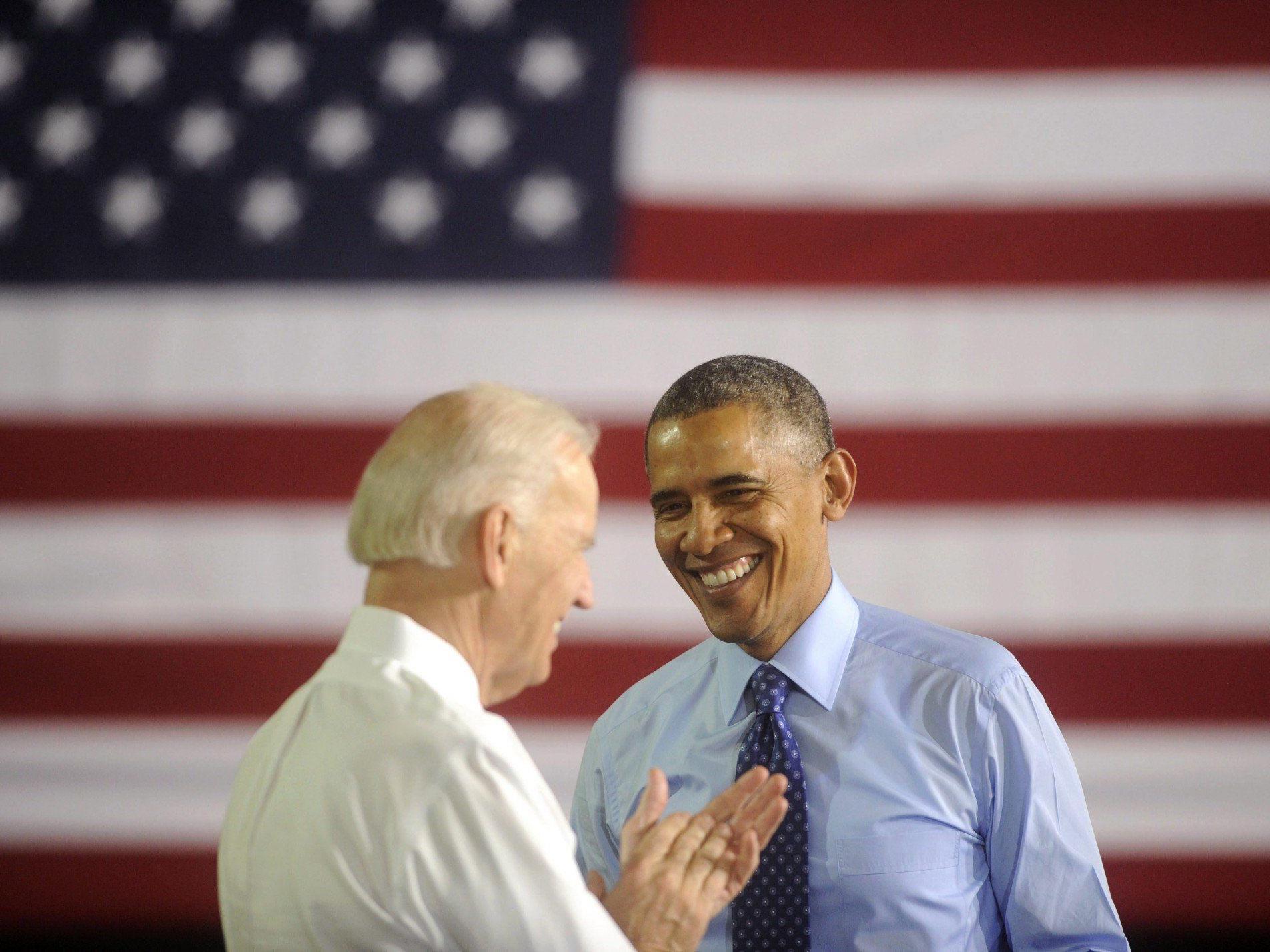 Barack Obama und Joe Biden veröffentlichen Selfie auf Instagram