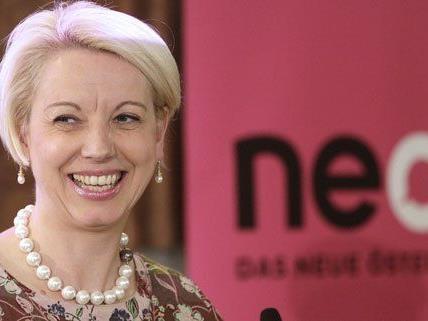 Für die NEOS im EU-Wahl-Rennen: Angelika Mlinar