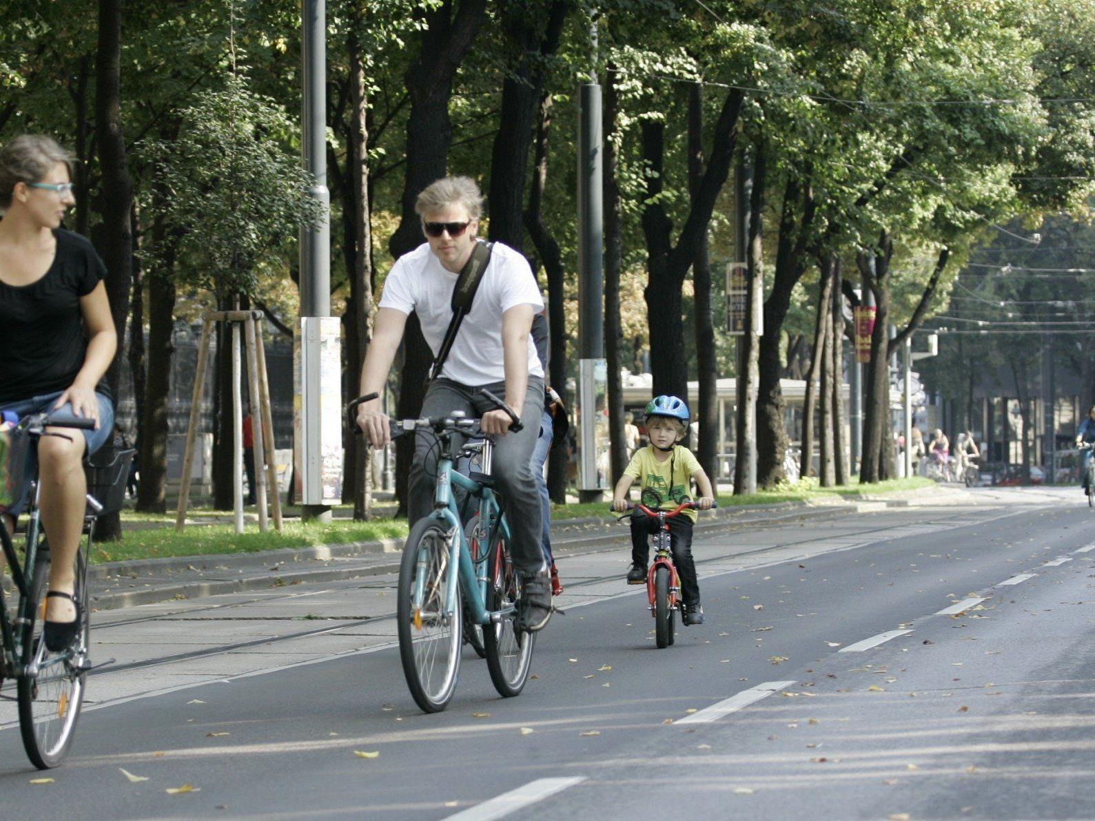 Rüdiger maresch sprach sich für eine autofreie Ringstraße aus.