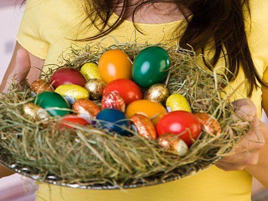 Auf sieben Wiener Märkten bekommt man Ostereier gratis