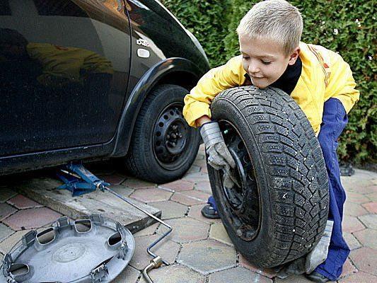 Offiziell ist es Zeit für den Reifenwechsel