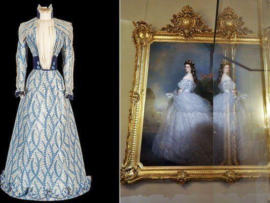 Das blaue Kleid von Kaiserin Elisabeth, kurz Sisi
