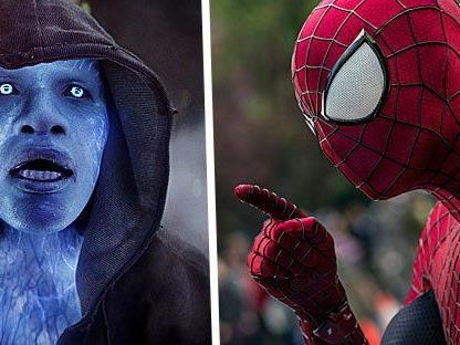 Ein klassicher Gegner von Spider-Man feiert sein Leinwand-Debut: Jamie Foxx spielt den Bösewicht Electro.