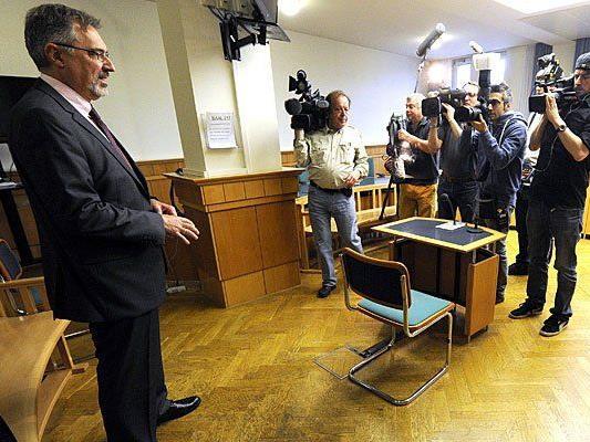 Ewald Stadler beim Prozess in Wien