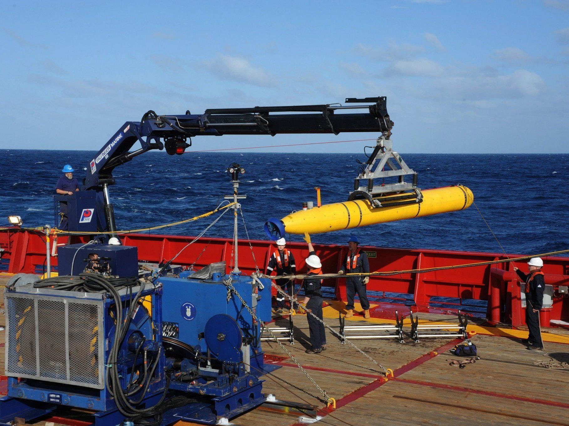 Das Bluefin-21-U-Boot kann 4.500 Meter tief tauchen.